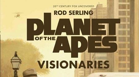 PREVIEW PLANET OF THE APES: VISIONARIES HERE